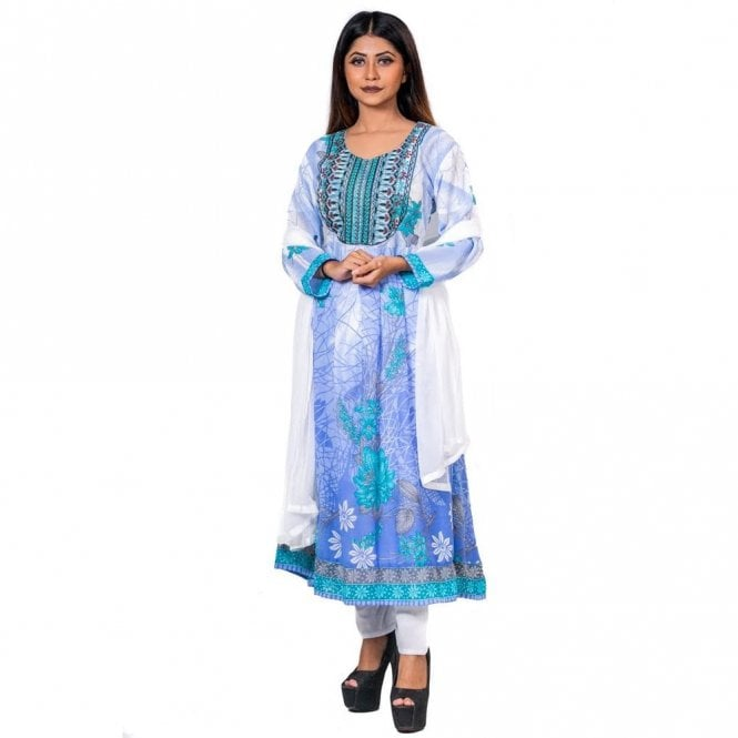 Churidar Long Dress Suit ML 12602