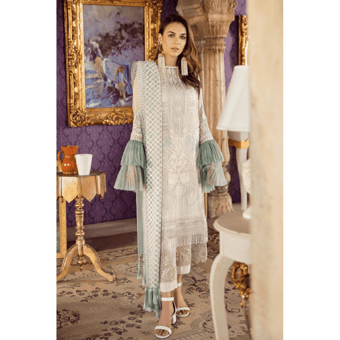 Unstitched Fabric Suits: ML 12635