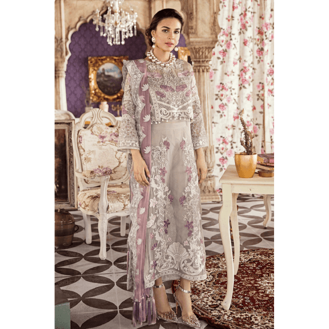 Unstitched Fabric Suits: ML 12644