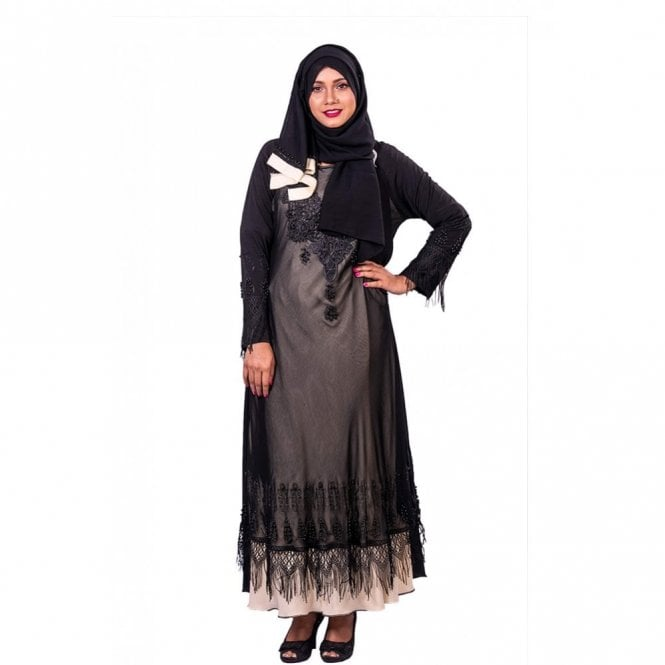 Umbrella Cut Abaya ML 31842