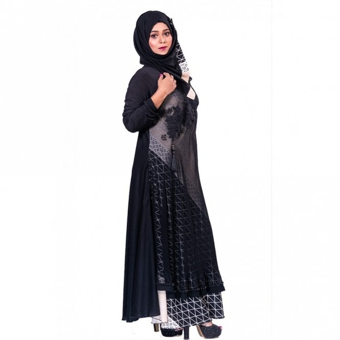 Umbrella Cut Abaya ML 31846