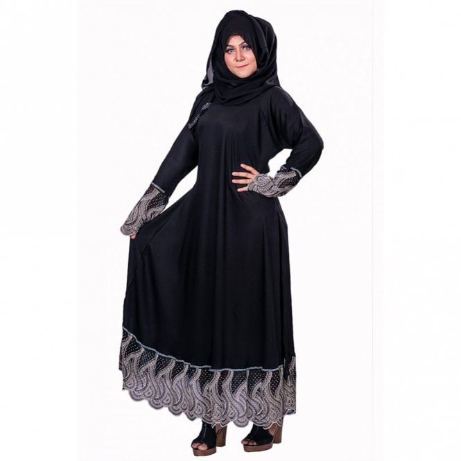 Umbrella Cut Abaya ML 31850