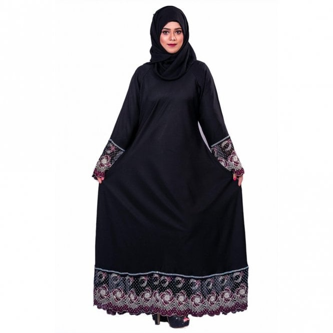 Umbrella Cut Abaya ML 31853