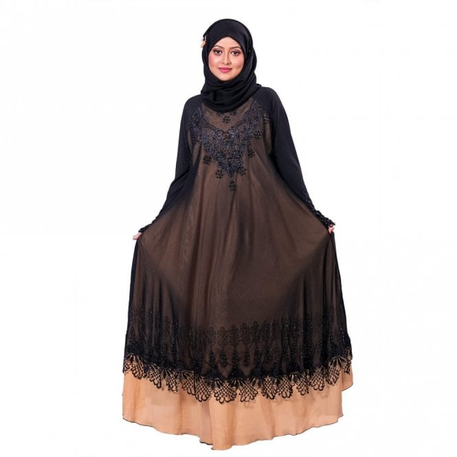 Umbrella Cut Abaya ML 31856