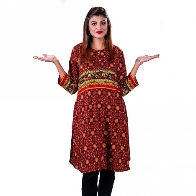 ML 12783 Ladies Kurta Top