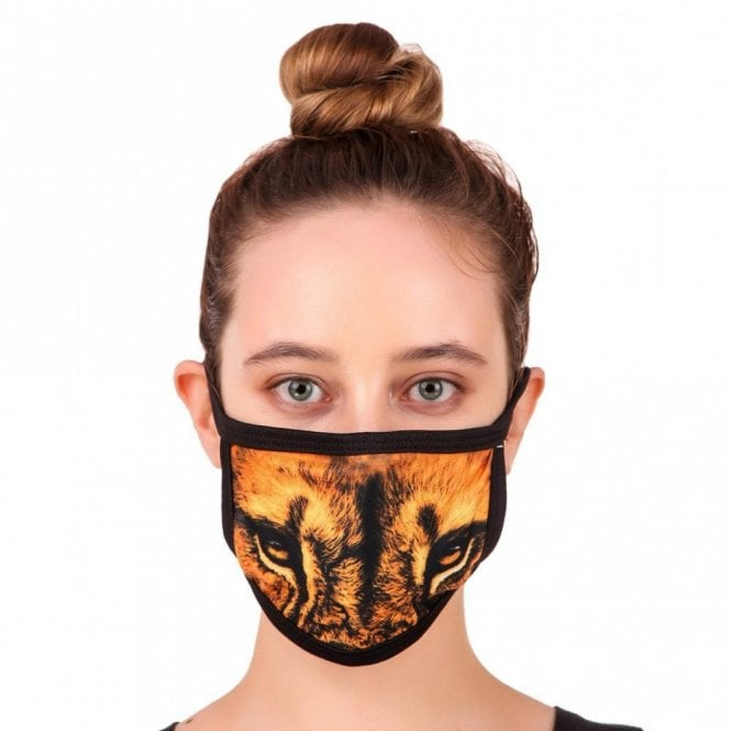 MLP 080 Washable & Reusable Digital Printed Face Mask