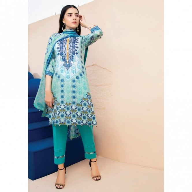 Unstitched Fabric Suits: ML 12846