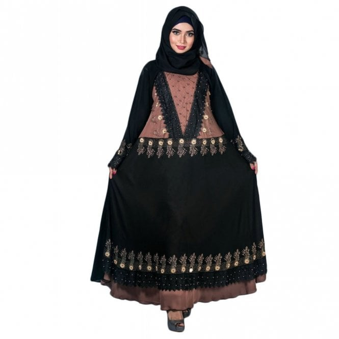 Umbrella Cut Abaya ML 31922