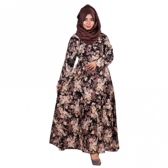 Umbrella Cut Abaya ML 31944