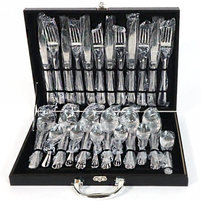KD- 6258 : 24 pcs Stainless Steel Cutlery Set With Black Box