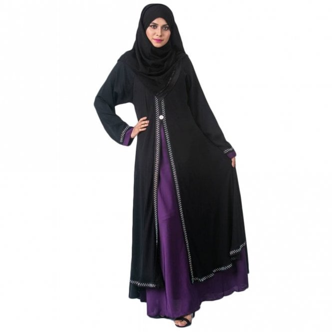 Umbrella Cut Abaya ML 31993