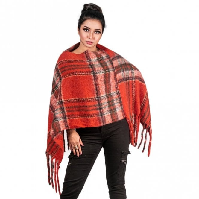 ML 6288 Women's Poncho Shawl