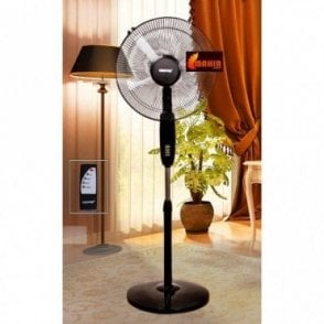 16 inch Stand Fan with Remote Control From Geepas GF 9382