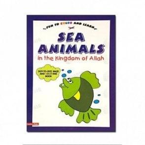 Sea Animals in the Kingdom of Allah (Colouring Book)[MLB 8160]