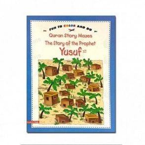 The Story of Prophet Yusuf(Colouring Book)[MLB 8157]