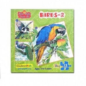 Birds-2 (Box of three puzzles)[MLB 8177]