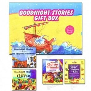 Goodnight Stories Gift Box (Four Books)[MLB 897]