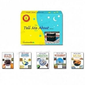 "My ""Tell Me About"" Box (Five Hardbound Books)[MLB 8107]"