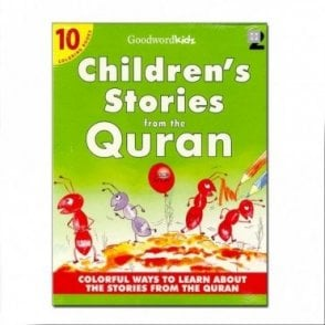 My Children's Stories from the Quran-2 (Ten Colouring Books)[MLB 8138]