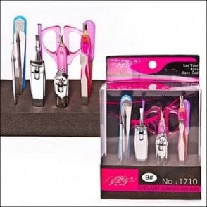 K-167 Girls 12 piece Manicure Set