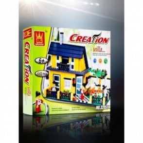 K27 Creation Villa Building Block Toys
