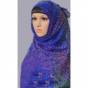 ML 6154 Large Size Scarf [ 72inch x 40inch ]