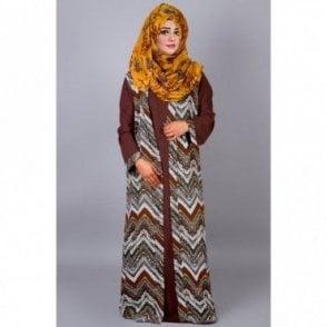 ML 31405 Two piece Abaya & Jacket