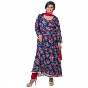 ML 12568 Churidar Long Dress Suit