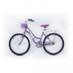 KB 02:GIRLS 24 INCH STEEL MOUNTAIN BIKE