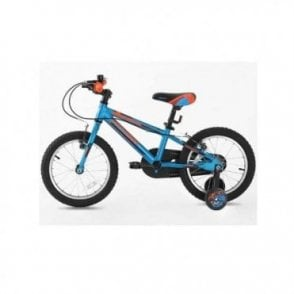 KB 06:BOYS 16 INCH ALLOY BIKE WITH SUPPORT WHEEL