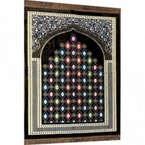 Islamic:: Islamic Prayer Mat / Rug / Musallah / Janamaz [ML 55R]