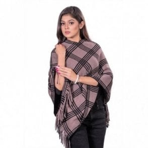 ML 31827 Women's Poncho Shawl