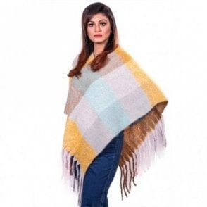 ML 31833 Women's Poncho Shawl