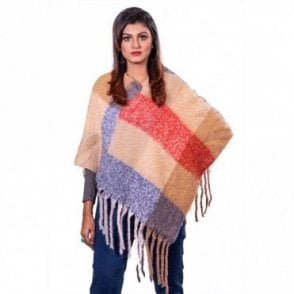 ML 31834 Women's Poncho Shawl
