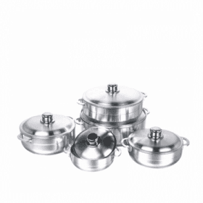 KC - 6252 :Aluminium Polishing cookware 6pcs  set