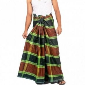 ML 552 Men's Cotton Stitched Lungi
