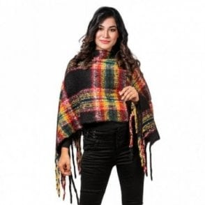 ML 6285 Women's Poncho Shawl