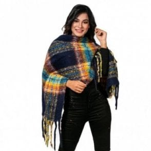 ML 6286 Women's Poncho Shawl