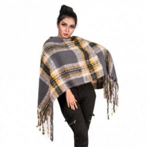 ML 6289 Women's Poncho Shawl