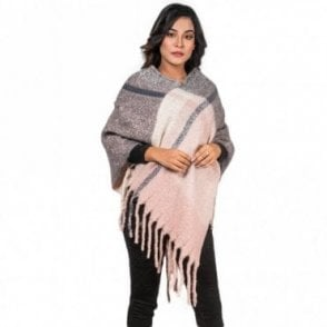 ML 6290 Women's Poncho Shawl