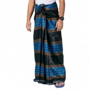 ML 558 Men's Cotton Stitched Lungi