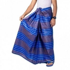 ML 559 Men's Cotton Stitched Lungi