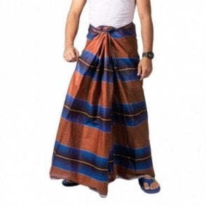 ML 562 Men's Cotton Stitched Lungi