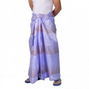 ML 567 Men's Cotton Stitched Lungi