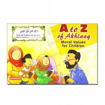 A to Z of Akhlaaq Moral Values for Children[MLB 885]