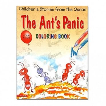 The Ant's Panic (Colouring Book)[MLB 8128]