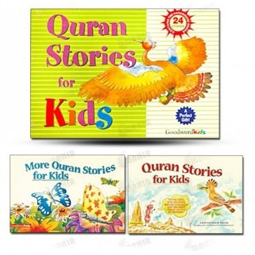 My Quran Stories for Kids Gift Box (Two Hard Bound Books)[MLB 8105]