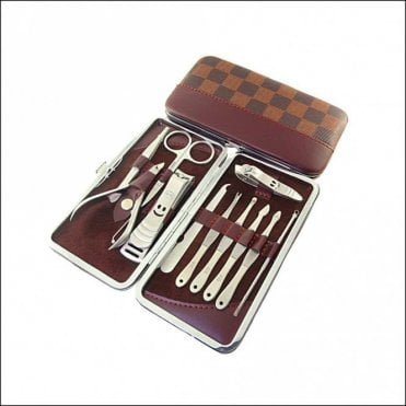 K-174  10 piece Large Size Manicure Set