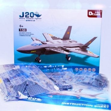 K25 Stealth Fighter Block Toys