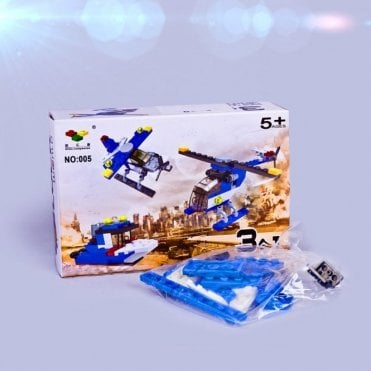 K30-003 Helicopter Building Blocks Toy